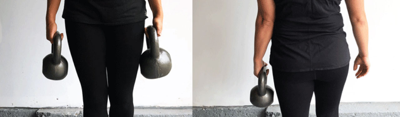 Modifications to the Farmer's Walk Exercise to Target Specific Impairments