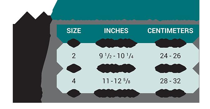 Push med Elbow Brace Size Chart